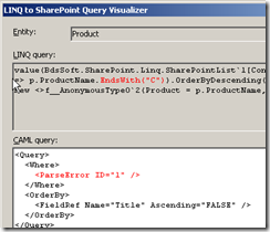 linqtosharepoint_notimplemented_bis