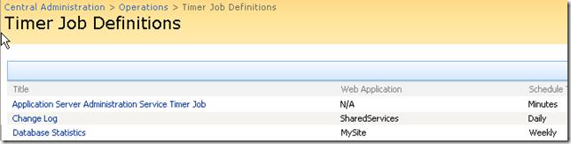 Job Definition